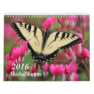 Birds and Blooms 2016 Calendar