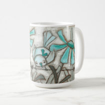 Birds and Blooms/Laguna Blue - Mug