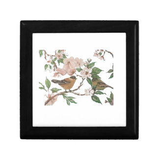Birds and Blossoms Jewelry Box