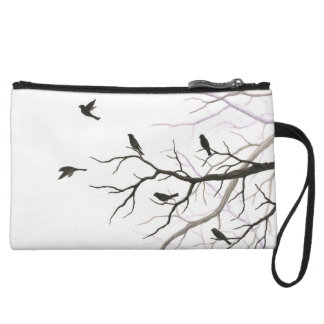 Birds and Branches Clutch Purse