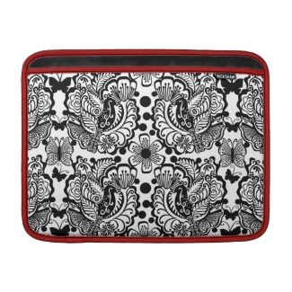 Birds and Butterflies Macbook Air Sleeve