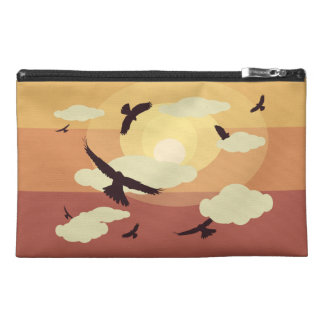 Birds and Clouds Travel Bag Travel Accessories Bag