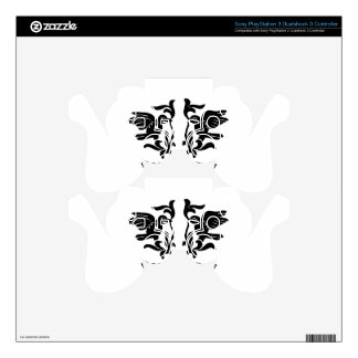 Birds and Flourishes PS3 Controller Decal