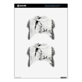 Birds and Flowers - Japanese Edo Period Xbox 360 Controller Skin