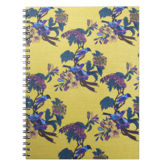 Birds And Flowers Notebooks