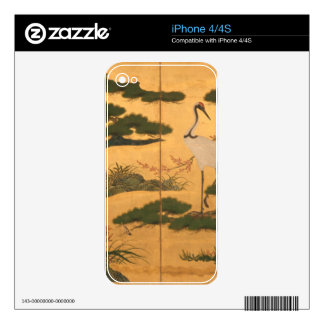 Birds and Flowers of the Four Seasons Decal For The iPhone 4S