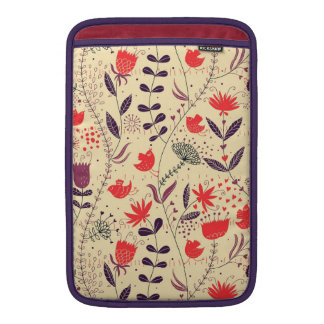 Birds and Flowers Sleeve For MacBook Air