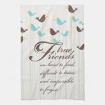 Birds and Friends Kitchen Towel