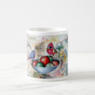 BIRDS and FRUITS. Moltchanoph Inc. Classic White Coffee Mug
