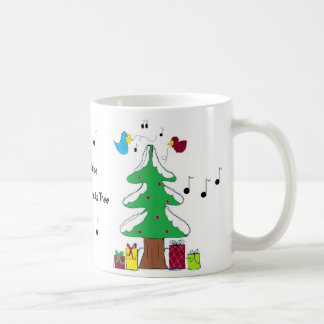 Birds and Musical Notes Coffee Mug