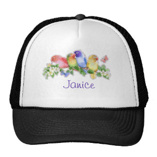 Birds and Name Hat