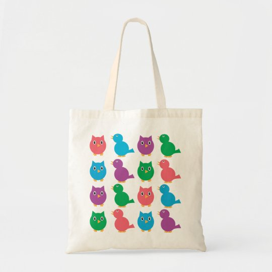Birds and Owls Bag