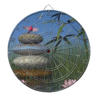 birds and pebble zen dart boards
