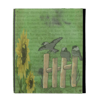 Birds and Sunflowers iPad Case