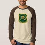 Birds and the Beats Ranger Long Sleeve Brown T-Shirt