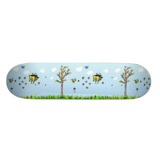 Birds and the Bee's Skate Board