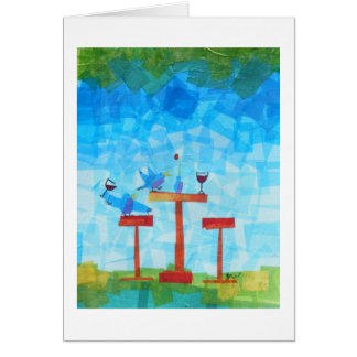 Birds and Wine! Cards