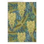Birds and Wisteria Stationery Note Card