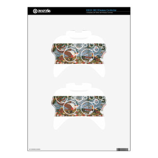 Birds, Animals, and Flowering Plants in Imaginary Xbox 360 Controller Skins