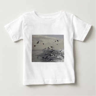 Birds at the Waters Edge Baby T-Shirt