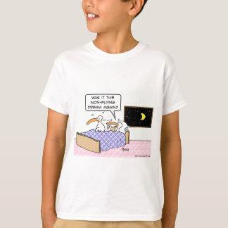 birds bed non flying dream again T-Shirt