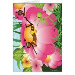 Birds & Bees Hälsnings Kort