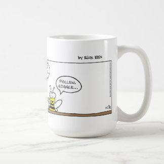 Birds & Bees Classic White Coffee Mug