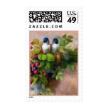 Birds Berries and Bees Postage
