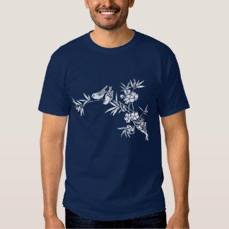 birds & blossom (dark) t-shirt