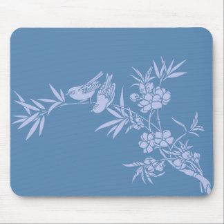 birds & blossom mousepad
