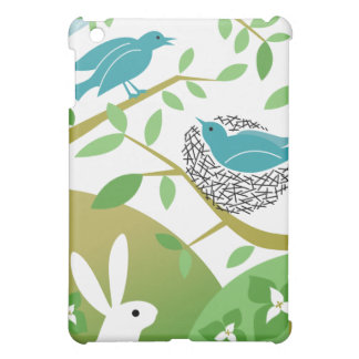 Birds & Bunny iPad Case