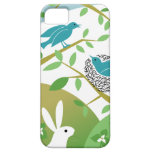 Birds & Bunny Spring iPhone Case iPhone 5 Covers