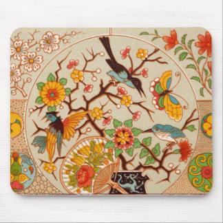 Birds & Butterflies Mousepad