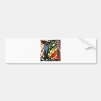 Birds by Franz Marc Bumper Sticker