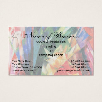 Birds by Franz Marc; Vogel Business Card