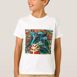birds by Sandra Silberzweig T-Shirt