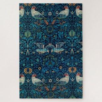 Birds by William Morris (1834-1896) Jigsaw Puzzle