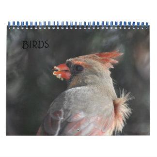 Birds Calendar