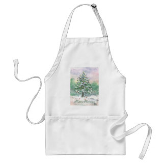 Birds' Christmas! Adult Apron