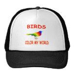 Birds Color My World Hat