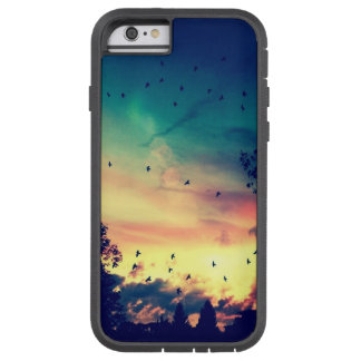 Birds colorful sky nature scenery tough xtreme iPhone 6 case