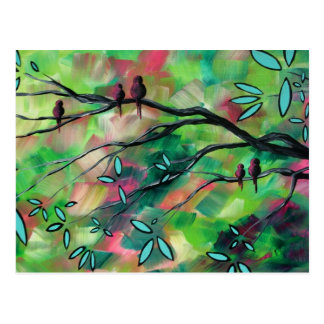 Birds Delight Postcard
