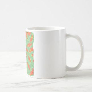 Birds eating seeds coffee mug