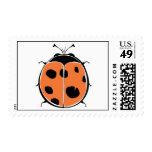 Bird's Eye Ladybug Postage Stamp