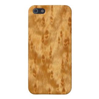 Birds Eye Maple iPhone SE/5/5s Case