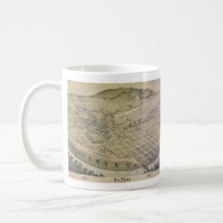 Bird's Eye View El Paso El Paso County Texas 1886 Coffee Mug