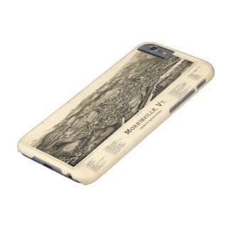 Bird's Eye View Map Morrisville Vermont (1889) Barely There iPhone 6 Case