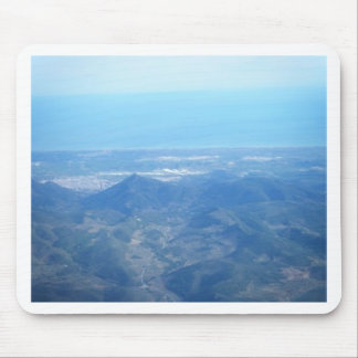 Bird's eye view mouse pad