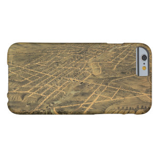 Bird's Eye View of Akron Ohio (1870) Barely There iPhone 6 Case