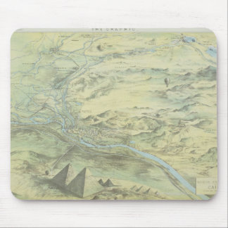 Bird's Eye View of Cairo Mouse Pad